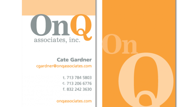 Graphic Design - Business Cards - Stationery Packages - ZoeSnyder.com - Houston, Tx